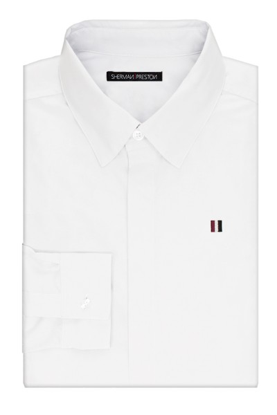 Sherman-Preston-SS201501A1-Phillip-Essential-White-Shirt