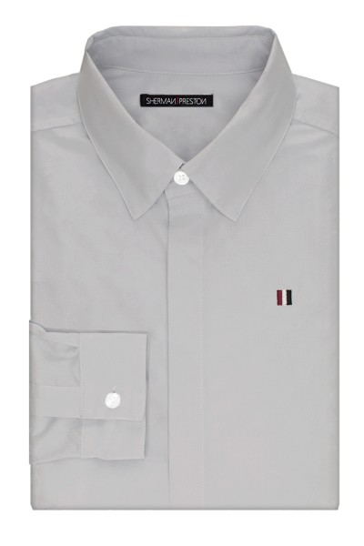 Sherman-Preston-SS201501A3-Phillip-Essential-Grey-Shirt