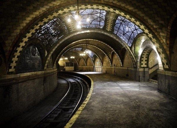 The Old City Hall Subway Stop